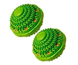 Irisana 72.IR20X2 - Ecobola doble para lavadora, color verde agua, pack de 2