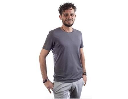 camiseta hombre modal algodon ecologico