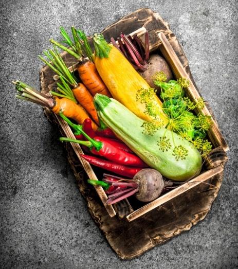 cesta alimentos ecologicos