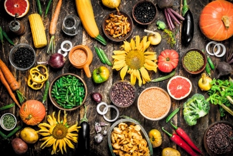 variedad alimentos ecologicos