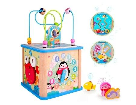 juguete ecologico madera Toy5en1