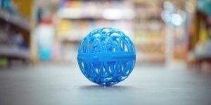 bola de lavado ecologica