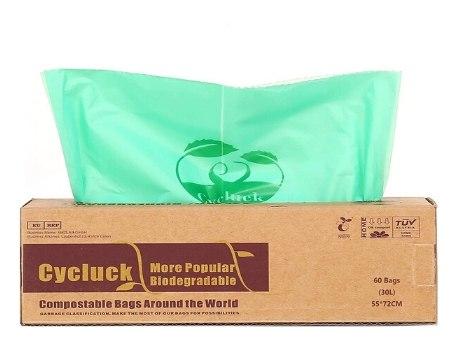 bolsas ecologicas biodegradables60 30L