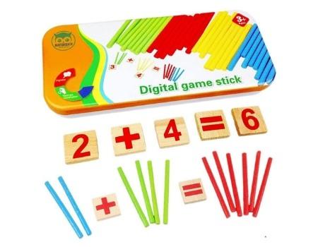 juego educativo montessori ecologico
