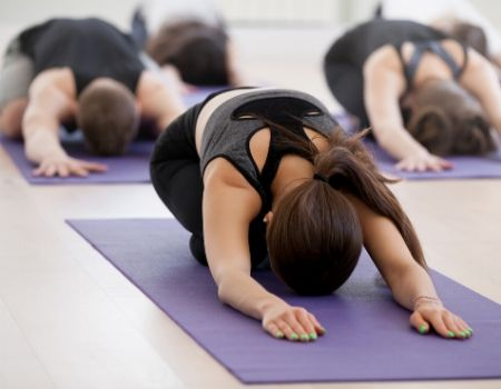 esterilla de yoga ecologica clase