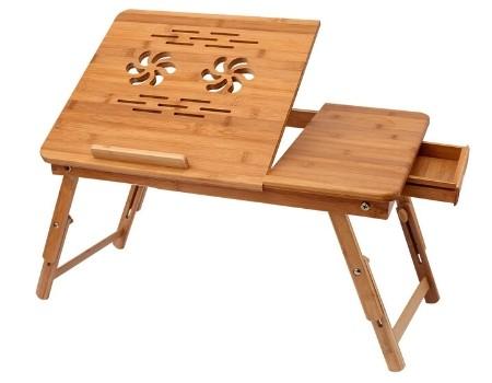 mesa bambu computadora ecologica