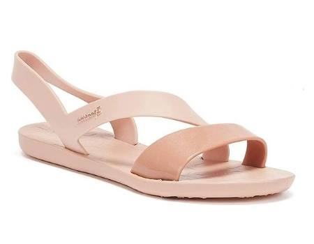 sandalia ecologica mujer rosada