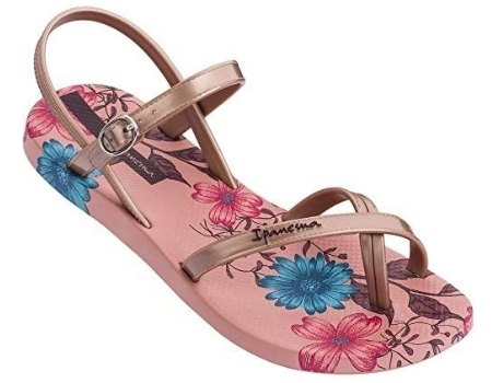 sandalia ecologica rosada diseño